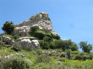 Minoan ruins were nearby